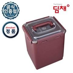 [정품] 8.1L 딤채 김치통 김치용기 김치냉장고 전용용기 WD005458