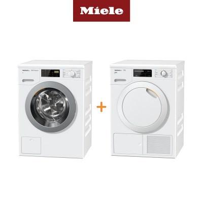 Miele 밀레 의류건조기 TCG620+드럼세탁기 WDB020