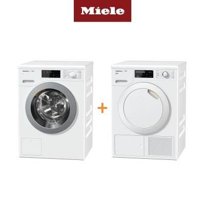 Miele 밀레 의류건조기 TCG620+드럼세탁기 WCG120