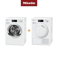 Miele 밀레 의류건조기 TCG620+드럼세탁기 WCI320