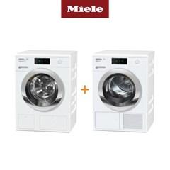Miele 밀레 의류건조기 TCR860+드럼세탁기 WCR860