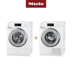 Miele 밀레 의류건조기 TWV680+드럼세탁기 WWV980