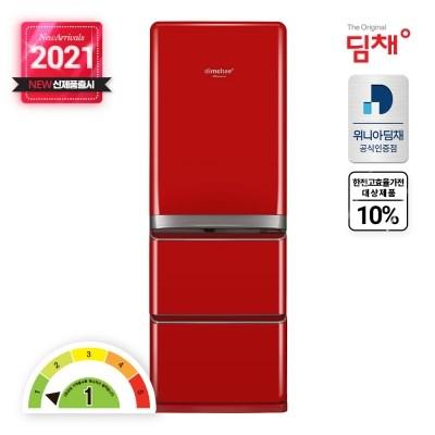 위니아딤채 21년형 신제품 마망 EDT43ERARR 스탠드김치냉장고 428L
