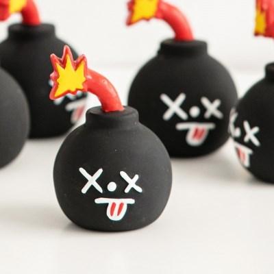 바잇미 폭탄 라텍스 장난감 (삑삑)
