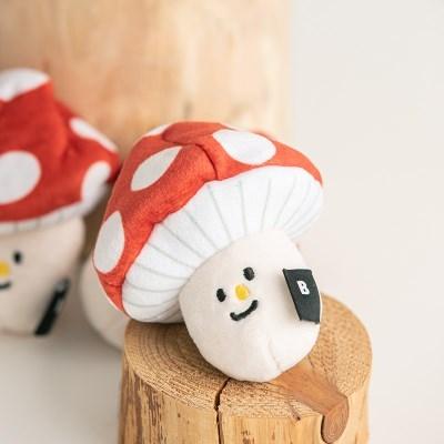 바잇미 버섯 노즈워크 장난감 (노즈워크/바스락/삑삑)