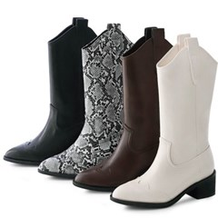 kami et muse Western middle boots_KM20w096