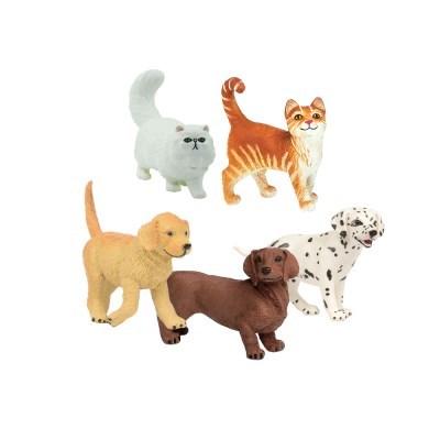 [사파리엘티디] 애완동물 피규어 5종세트(253229,251529_(1717436)