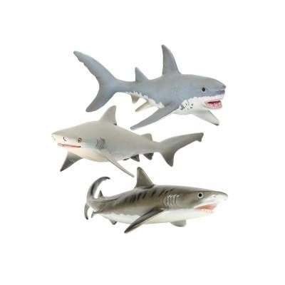 [사파리엘티디] 상어 동물피규어 3종세트(275029,422429_(1717434)