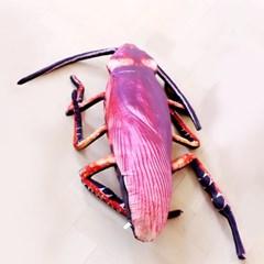 대형 바퀴벌레 쿠션 75cm 바디필로우 베개_(301828018)