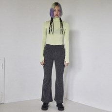 Flared pants (Charcoal)