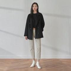 double handmadecoat (black)