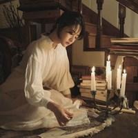이자벨 린넨 드레스 : Isabel linen dress - white