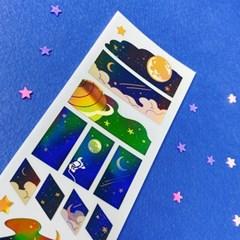 [몽스쮸] 작은 별빛 씰 스티커
