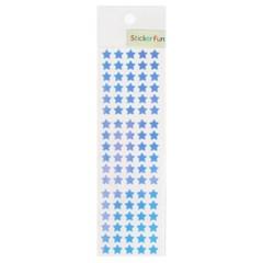 스티커펀 7mm 블루별 오로라스티커(YA507)