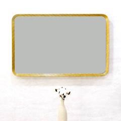 스퀘어 인테리어 화장대 욕실 벽걸이 거울