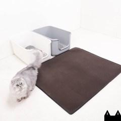 스타캣 고양이 모래매트_다크브라운(점보120cmX100cm)