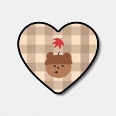 pattern acorn gummy 하트톡♥