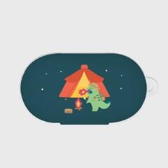 camping 랩터공룡 갤럭시 버즈케이스