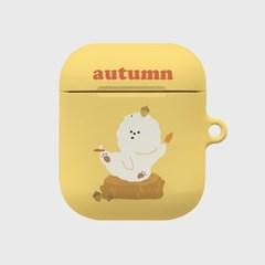 autumn love 꾸숑이 에어팟 하드케이스