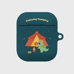 camping 랩터공룡 에어팟 하드케이스