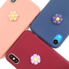 그봄 꽃한송이 플라워 파츠 소프트케이스 아이폰
