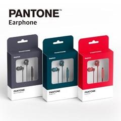 팬톤 메탈 유선 이어폰 P-FASHION 3.5mm 이어셋