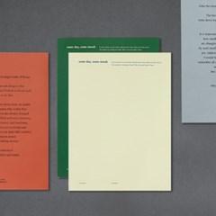 [만년형] 썸무드 저널 (책갈피,봉투세트)