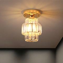 LED 직부등 크로노스 1등 골드 카페 매장조명 현관조명_(1963354)
