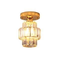 LED 센서등 크로노스 1등 골드 카페 매장조명 현관조명_(1963353)