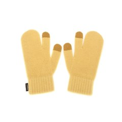 FENNEC KNIT TIMI GLOVES_ver.3 - YELLOW