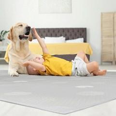 하우홈 댕댕 미끄럼방지 애견 강아지 방수 매트 140x250cm