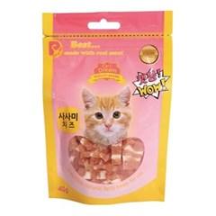고양이간식) 캣몽 사사미치즈 40g_(369850)