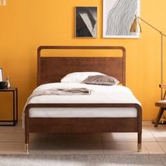 라벤나 고무나무 원목 침대(NEW E호텔 양모 7존 독립매트-SS)