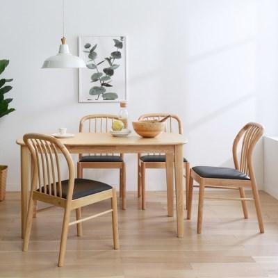 핀치 원목 1400 식탁테이블 4인용 2colors