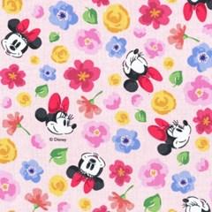 디즈니 리폼 패브릭 스티커 - 미키 로맨틱 A4_(1637383)