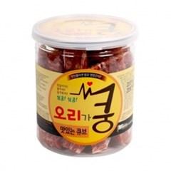 강아지간식) 쿵 오리큐브200g_(369041)