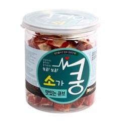 강아지간식) 쿵 소큐브200g_(369039)