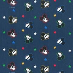 디즈니 리폼 패브릭 스티커 - 미키 트윙클 스타 A4_(1637382)