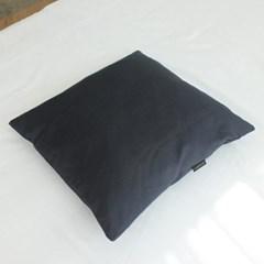 팬톤 소파 방석커버 50x50 N차콜 2P_(2776611)