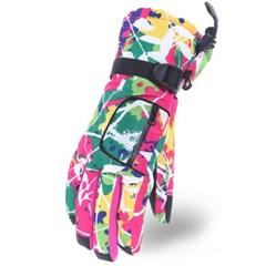 아우터 히든포켓 스키장갑 / 방수 방한 보드장갑