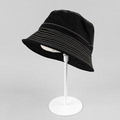 [베네]라인 포인트 코튼 벙거지 모자
