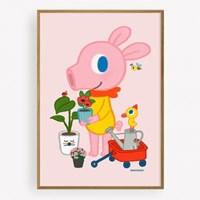 굴리굴리 포스터 / HOME GARDENING (050)