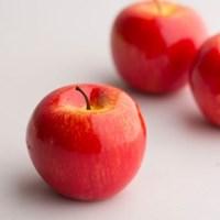 빨간 사과 모형 1P(유광)