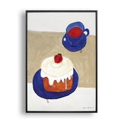 홍차와 케이크
