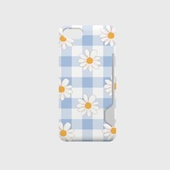 check daisy 디자인 카드수납케이스 폰케이스