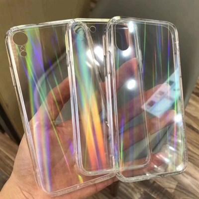 프리즘 투명 홀로그램 휴대폰 케이스 겔럭시/아이폰