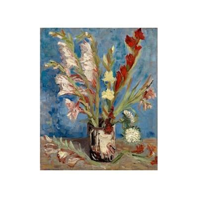 [빈센트반고흐]글라디올러스가 꽂혀있는 꽃병(54.3x65.8)