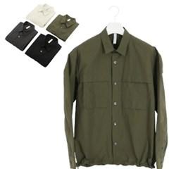 가을 남성 LAINE레인 구김없는 밑단스트링 바스락 자켓 셔츠남방