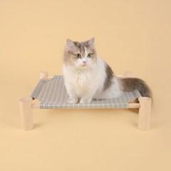 펫홀릭 고양이 해먹 [그레이] - 고양이침대 강아지해먹