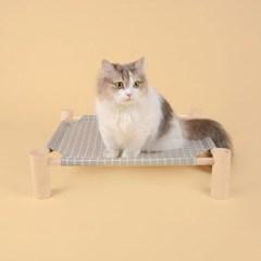 펫홀릭 고양이 해먹 [체크] - 고양이침대 강아지해먹